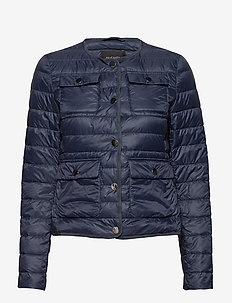 SADE LIGHT DOWN JACKET - NAVY BLUE
