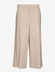 LUCAN WIDE TROUSERS - POWDER PINK