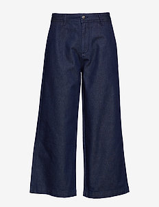 NIKASA TROUSERS - denim blue