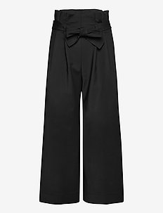Maryl Trousers - pantalons larges - black