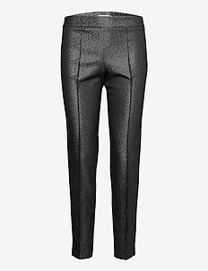 AREA TROUSERS - slim fit broeken - black & silver