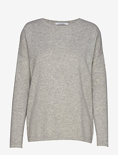 ROSAN CASHMERE KNIT - LIGHT GREY