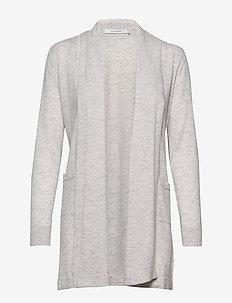 CREATA CARDIGAN - swetry rozpinane - pumice stone