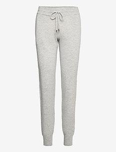 Caterin knit joggers - sweatpants - light grey