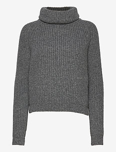 BENETTE KNIT - turtlenecks - thunder grey