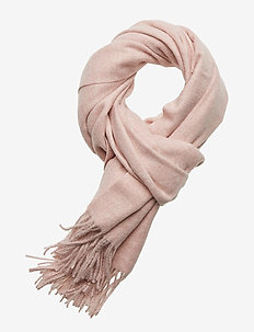 HENNICA WOOL SCARF - PALE PINK