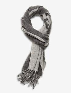 Corinne logo scarf - skjerf - grey