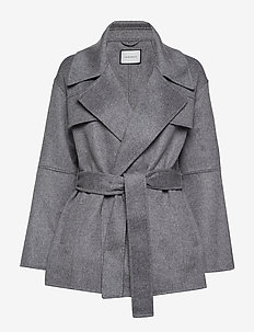 Seelia Coat - STEEL GREY
