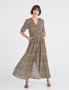 MEY DRESS - maxi sukienki - beige print