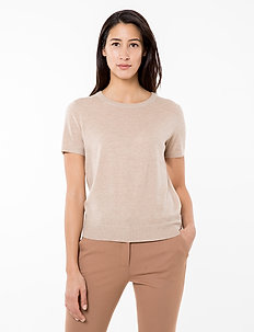 JOSEFA SL KNITTED TOP - knitted tops & t-shirts - croissant