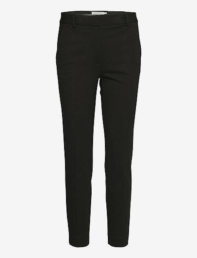 Jamy Jersey Trousers - slim fit bukser - black