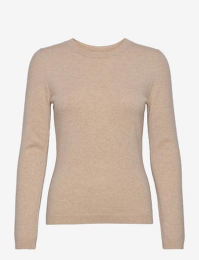 Catrin Knit - trøjer - beige