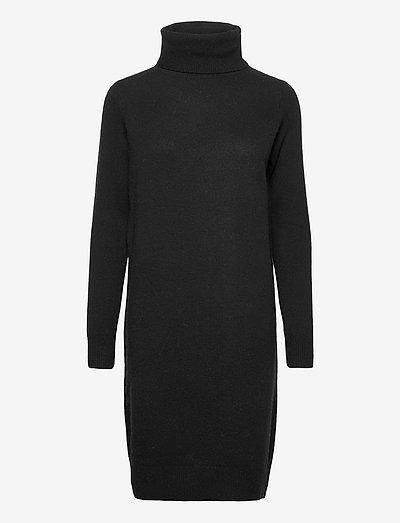 Aislayne Merino Knit Dress - sommerkjoler - black