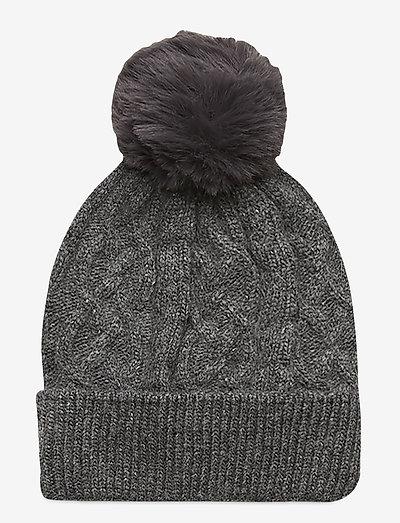 Uuve beanie - huer - grey