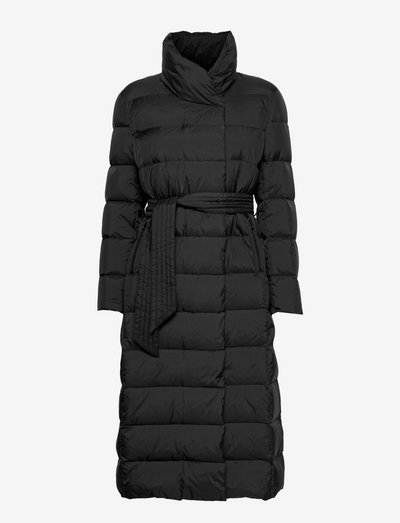 Lumie Coat - dynefrakke - black