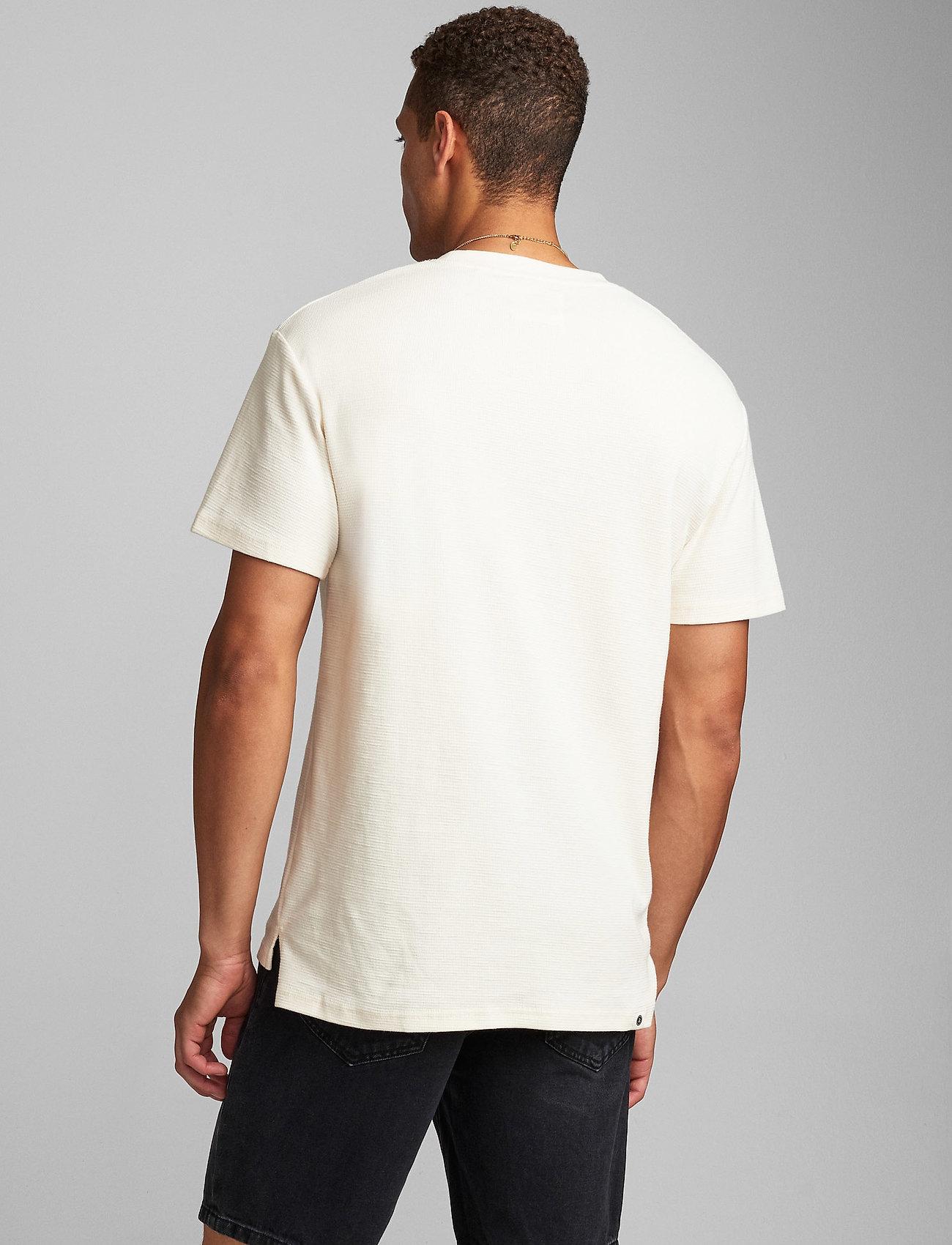 Anerkjendt - AKRUNE STRUC - basic t-shirts - tofu - 0
