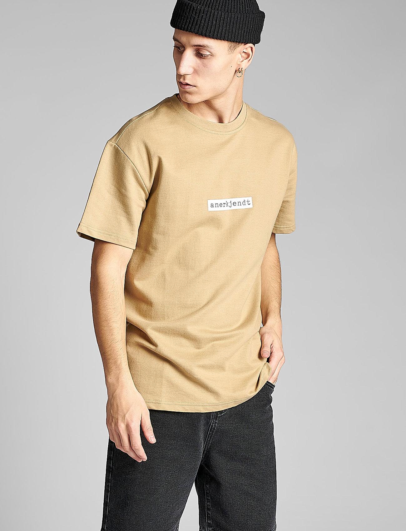 Anerkjendt - AKARNE BOXY SWEAT - t-shirts - incense - 0