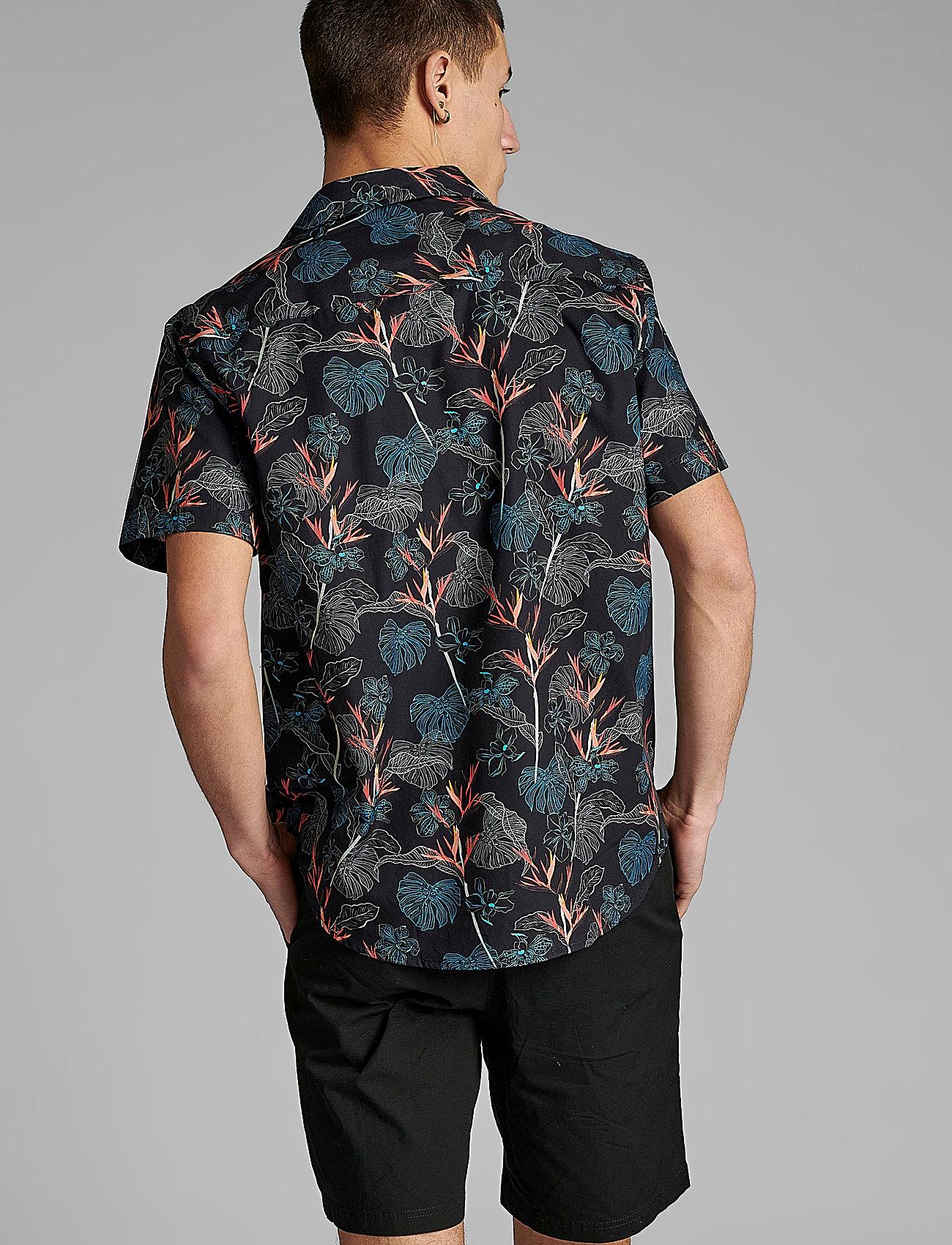 Anerkjendt - AKLEO SS POPLIN AOP - chemises de lin - incense - 3