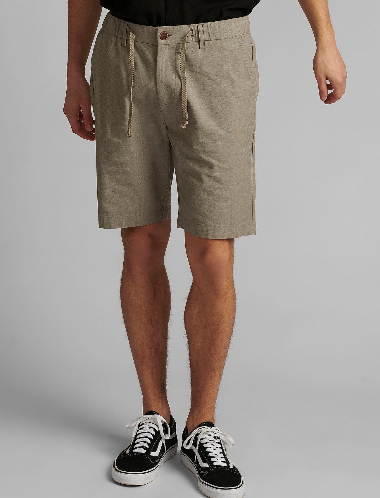 Anerkjendt - AKJENS LT ELASTIC SHORTS - casual shorts - brindle - 0