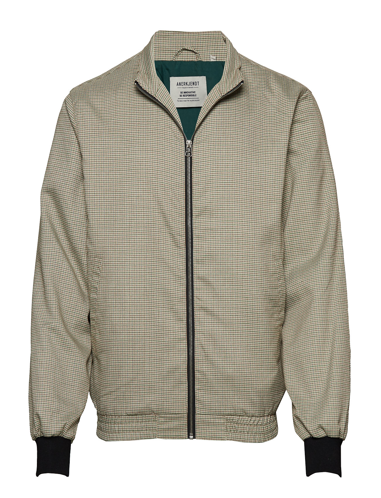 Anerkjendt THEO JACKET - DARK GREEN