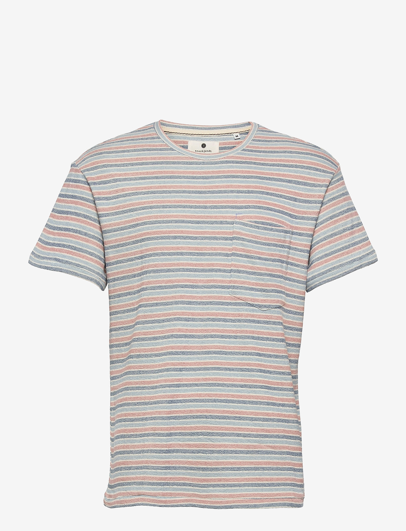 Anerkjendt - AKKIKKI STRIPE - t-shirts à manches courtes - tofu - 0
