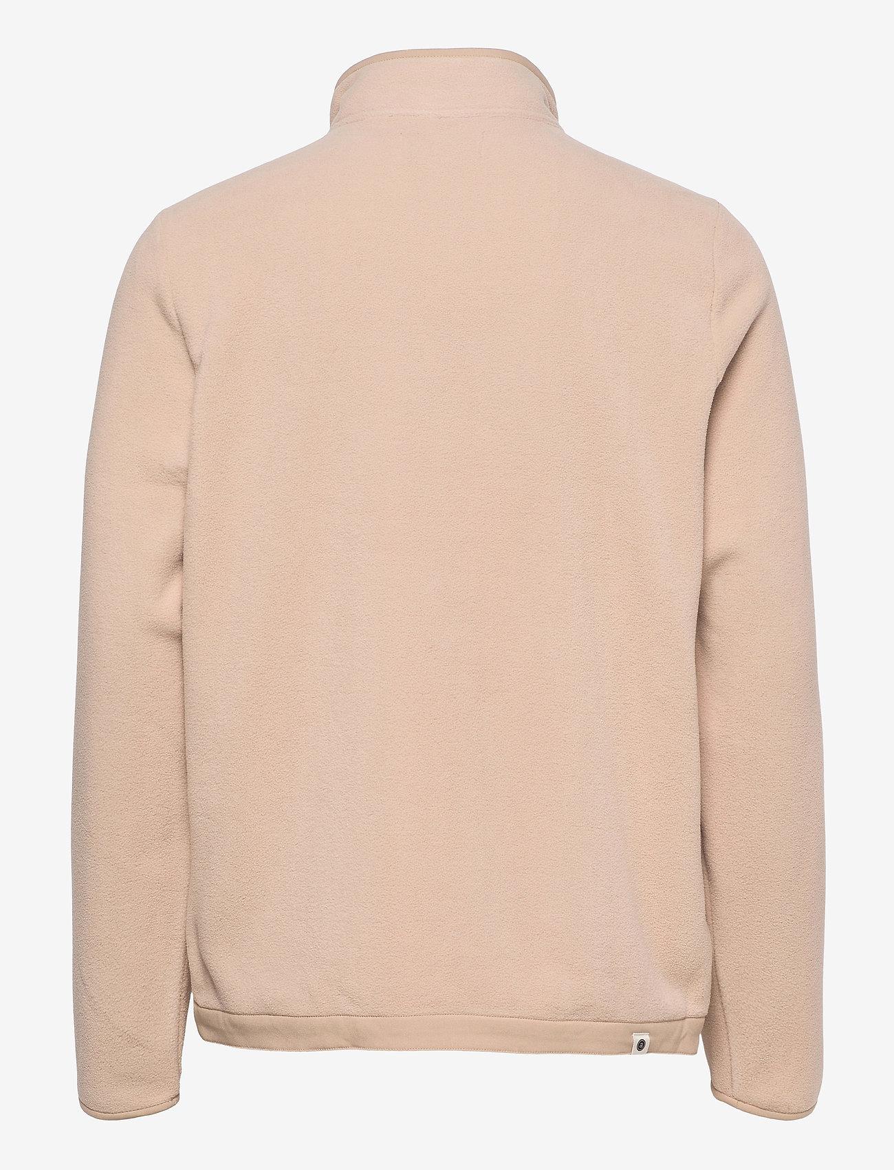 Anerkjendt - AKTOM FLEECE CARDIGAN - basic-sweatshirts - brown rice - 1