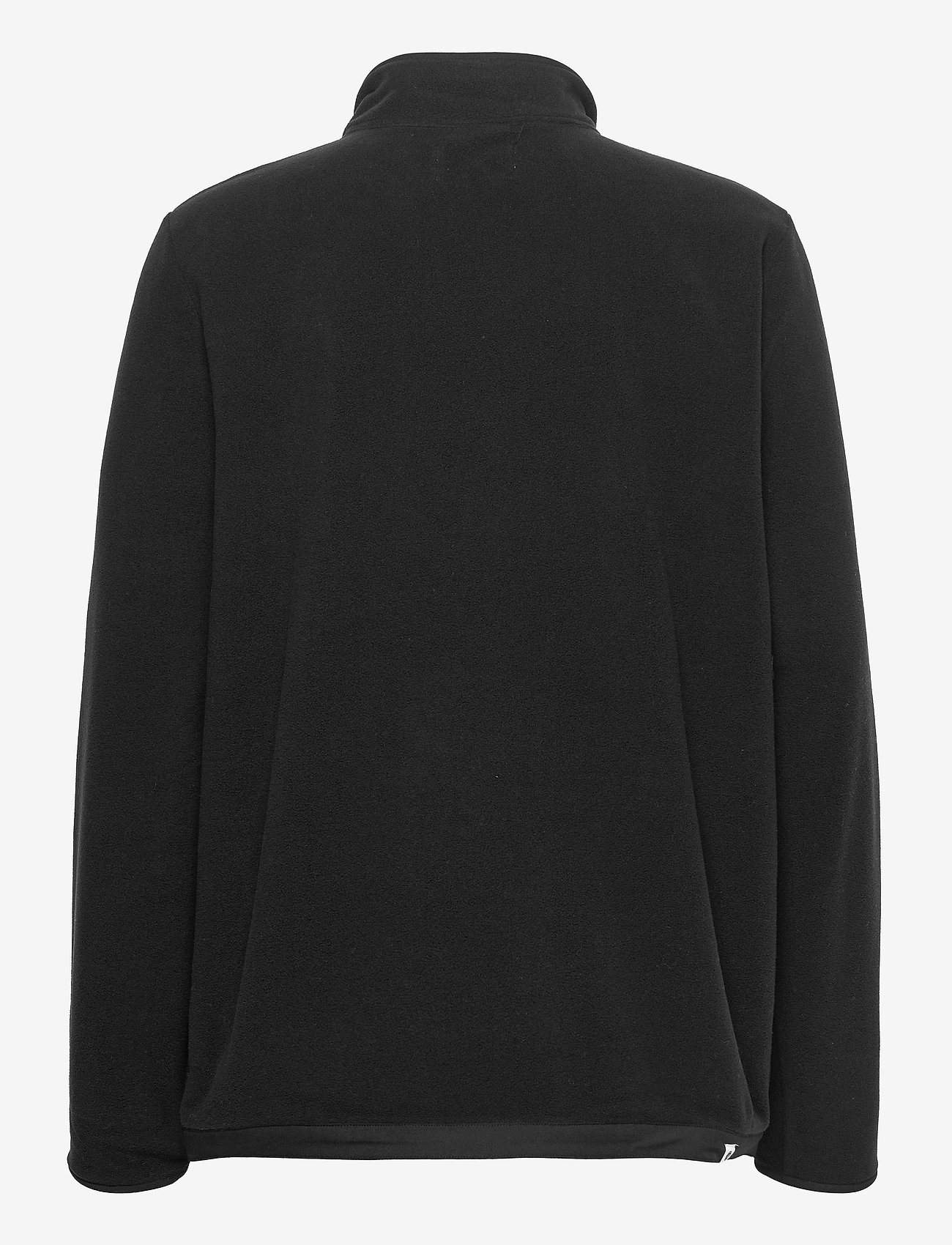 Anerkjendt - AKTOM FLEECE CARDIGAN - mid layer jackets - caviar - 1