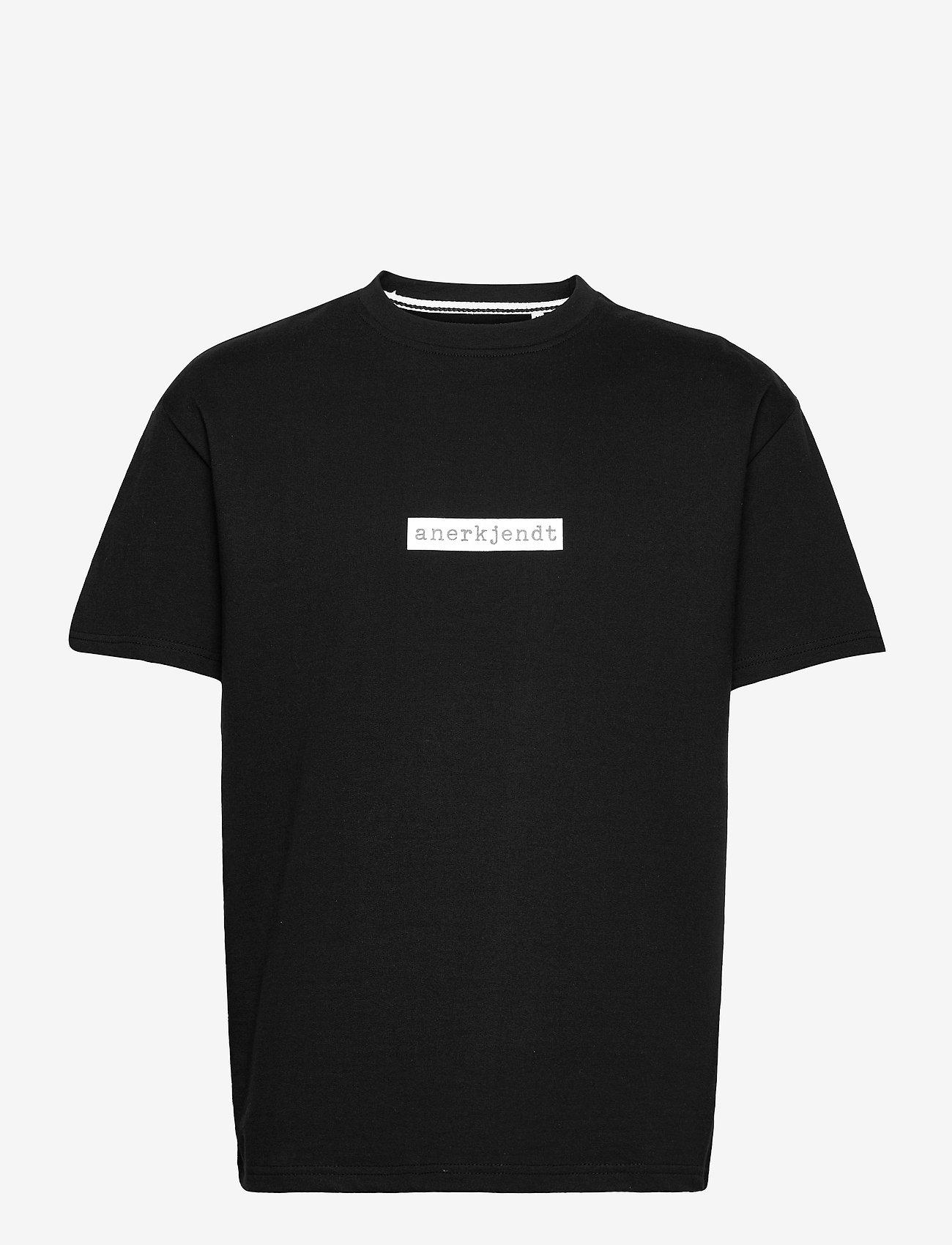 Anerkjendt - AKARNE BOXY SWEAT - t-shirts - caviar - 1