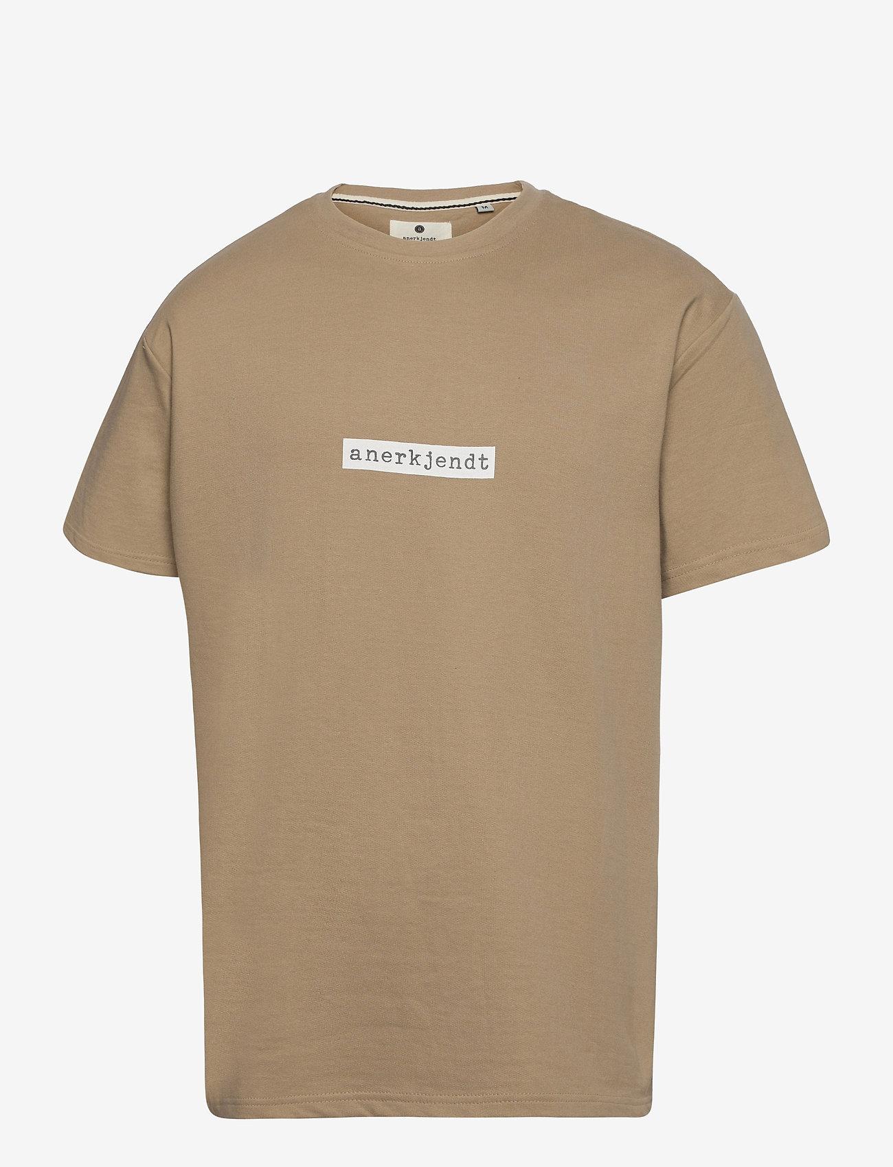 Anerkjendt - AKARNE BOXY SWEAT - t-shirts - incense - 1