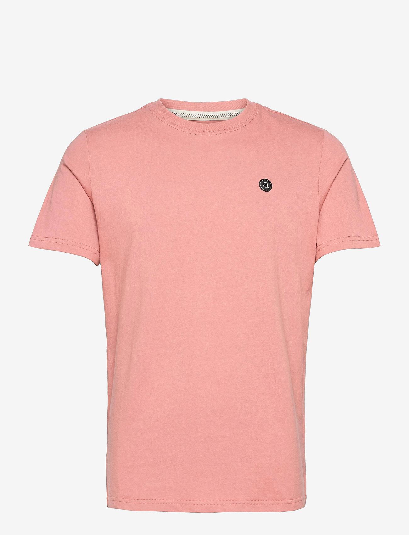 Anerkjendt - AKROD T-SHIRT - t-shirts - old rose - 0
