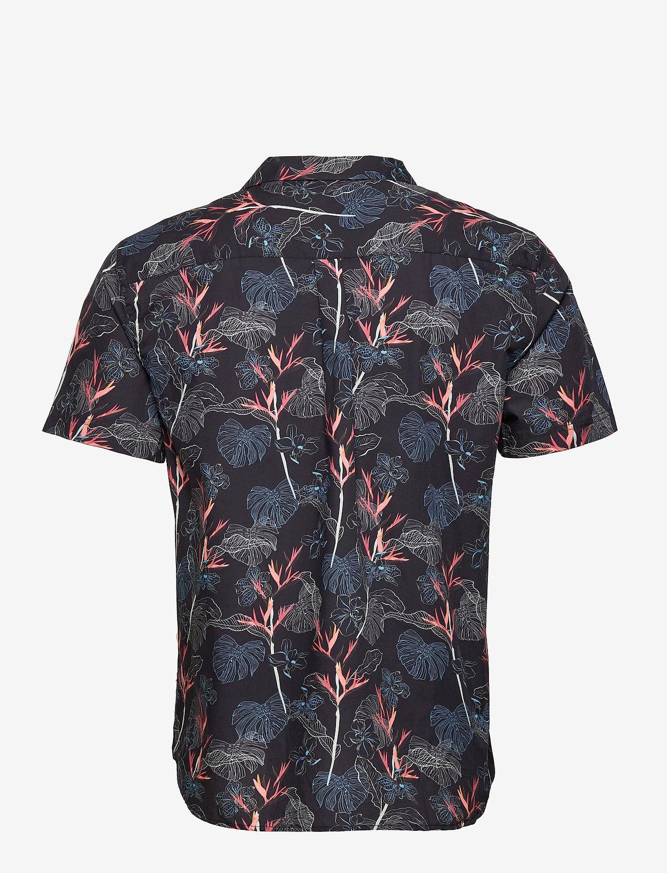 Anerkjendt - AKLEO SS POPLIN AOP - chemises de lin - incense - 2