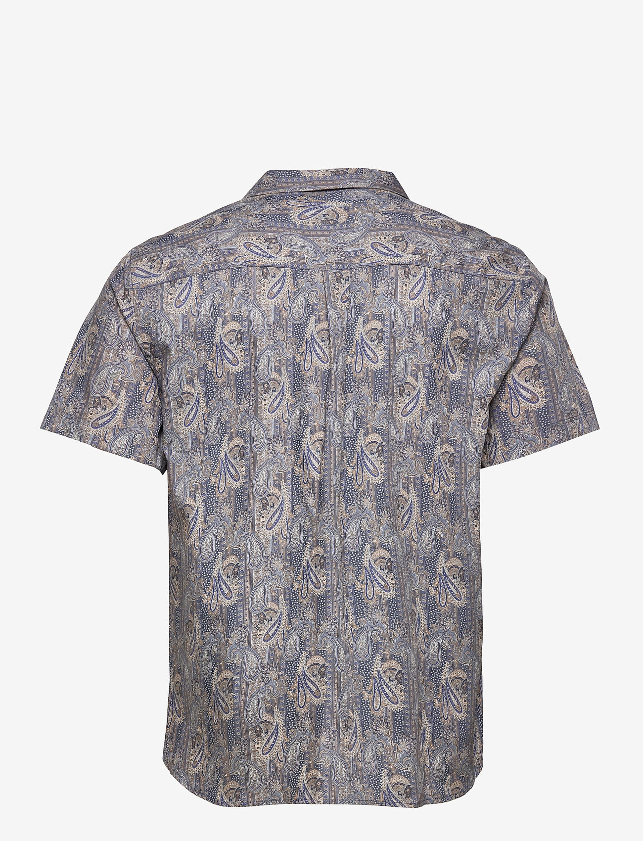 Anerkjendt - AKLEO SS POPLIN AOP - chemises à carreaux - slate black - 2