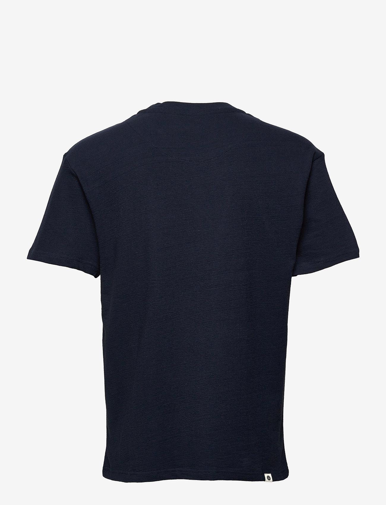 Anerkjendt - AKKIKKI STRUCTURE T SHIRT - basic t-shirts - sky captain - 1