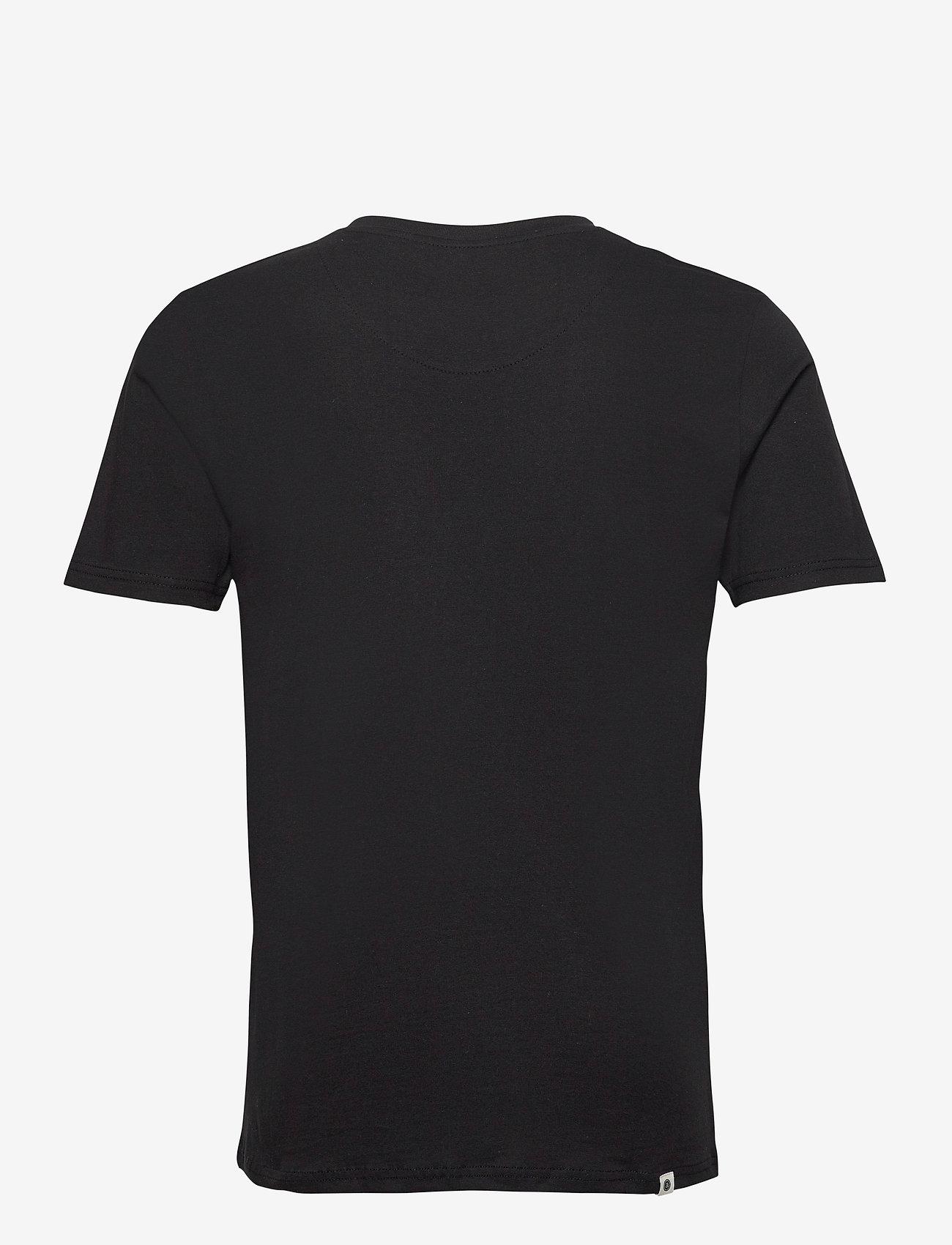 Anerkjendt - AKROD EMBROIDERY TEE - t-shirts - caviar - 1
