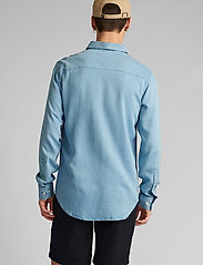 Anerkjendt - AKKONRAD LS TENSEL - linnen overhemden - copen blue - 3