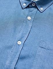 Anerkjendt - AKKONRAD LS TENSEL - linnen overhemden - copen blue - 6