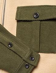 Anerkjendt - AKHENRY BLOCK - basic-sweatshirts - vineyard green - 3