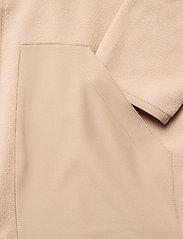 Anerkjendt - AKTOM FLEECE CARDIGAN - basic-sweatshirts - brown rice - 3