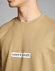 Anerkjendt - AKARNE BOXY SWEAT - t-shirts - incense - 4