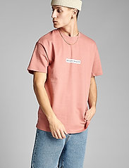 Anerkjendt - AKARNE BOXY SWEAT - t-shirts - old rose - 0