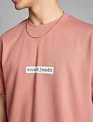 Anerkjendt - AKARNE BOXY SWEAT - t-shirts - old rose - 4