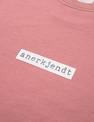 Anerkjendt - AKARNE BOXY SWEAT - t-shirts à manches courtes - old rose - 5