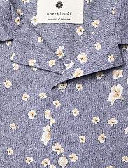Anerkjendt - AKLEO SS POPLIN AOP - geruite overhemden - pine grove - 5