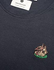 Anerkjendt - AKROD EMBROIDERY TEE - t-shirts - sky captain - 2