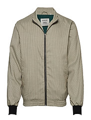 THEO JACKET - DARK GREEN