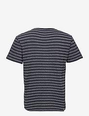 Anerkjendt - AKKIKKI CURV STRIPE - t-shirts à manches courtes - sky captain - 2