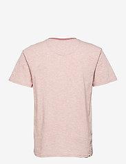 Anerkjendt - AKKIKKI CURV EMB - t-shirts - old rose - 2