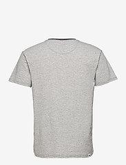 Anerkjendt - AKKIKKI CURV EMB - t-shirts - sky captain - 2
