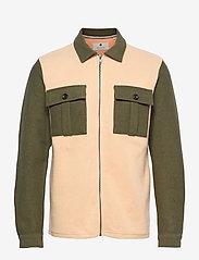 Anerkjendt - AKHENRY BLOCK - basic-sweatshirts - vineyard green - 0