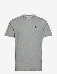 Anerkjendt - AKROD T-SHIRT - t-shirts - light grey mel - 0